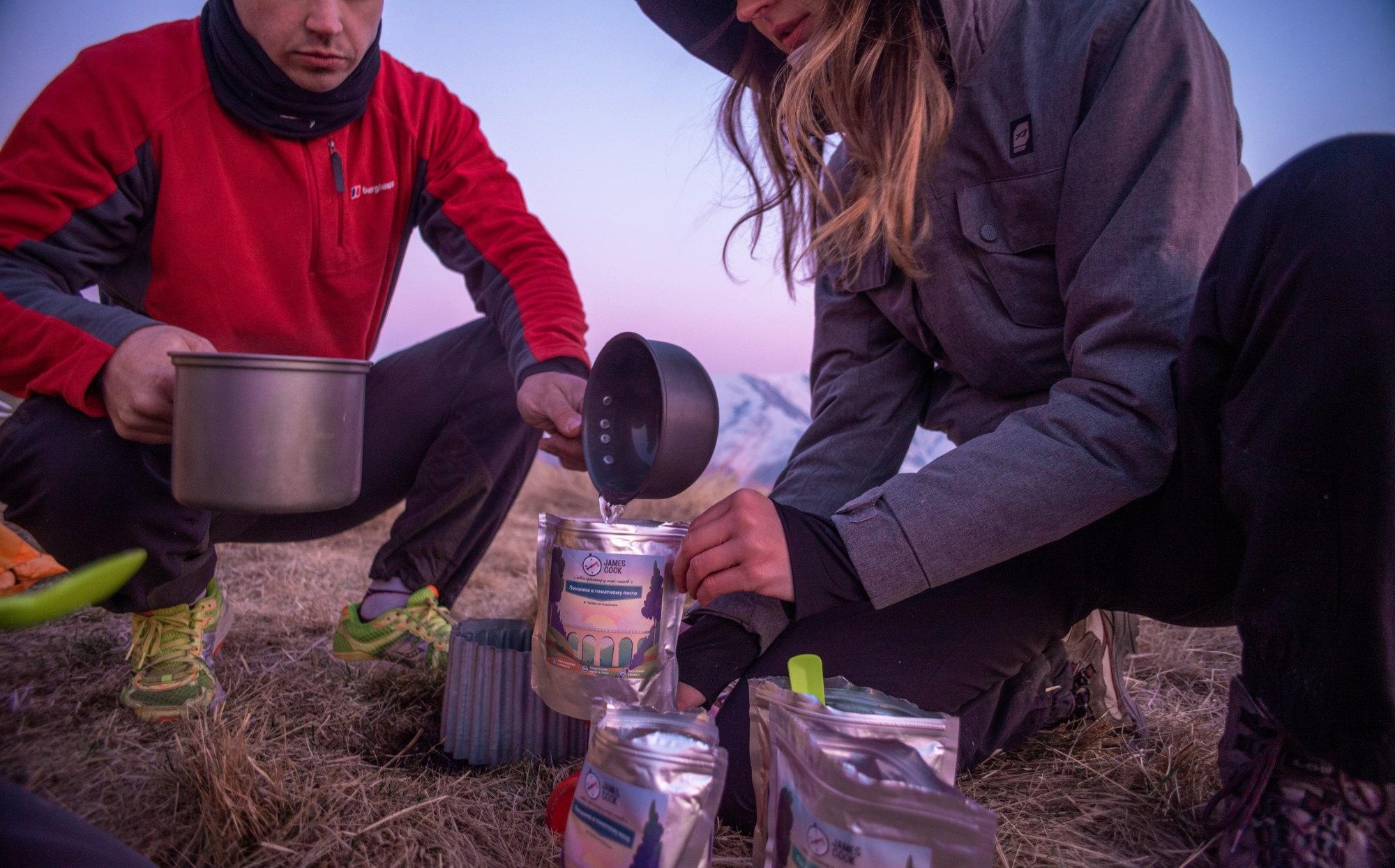 Плануємо харчування в поході